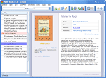 Ebook Database - Main window